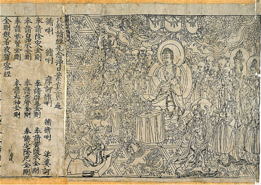 Diamond Sutra - the First Printed Book