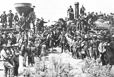 The Golden Spike 1869