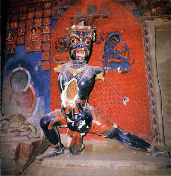 Vajrapani in Tibet