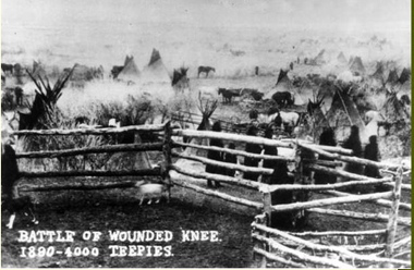 Wounded Kee - 4000 Teepees