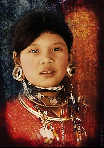 Akha Hill Tribe Girl