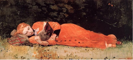 Winslow Homer 'The New Novel'