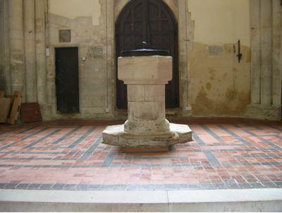 Bourn Baptismal Font
