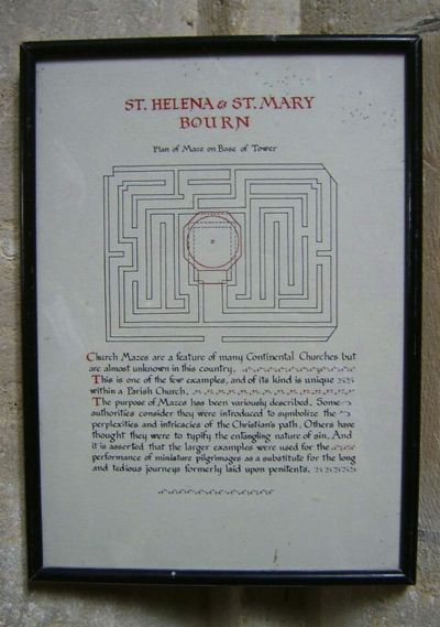 Bourn Maze