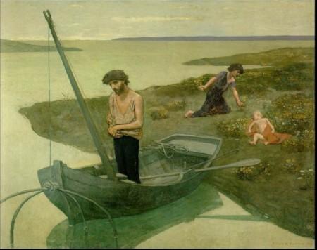 Pierre Puvis de Chavannes, Il Povero Pescatore (1881)
