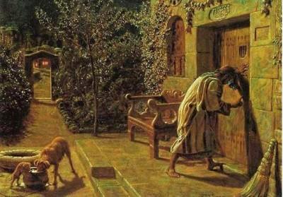 William Holman Hunt, The Importunate Knocker