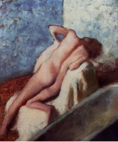 Edgar Degas Apres le Bain 1896