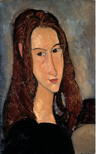 Jeanne Hebuterne, Modigliani, 1918