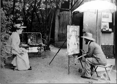 Valadon et Lautrec 1885