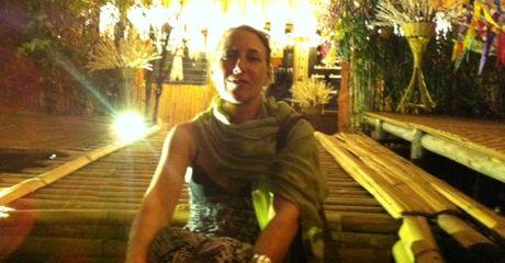 Vivian at Wat Pha Lad