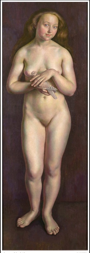 Dod Procter  Standing Nude
