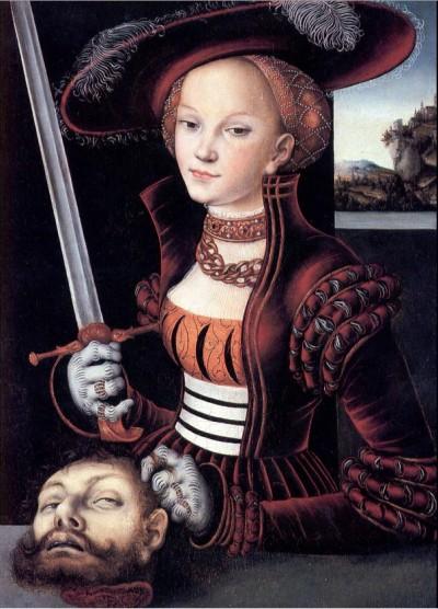 Lucas Cranach Judith/Holfernes