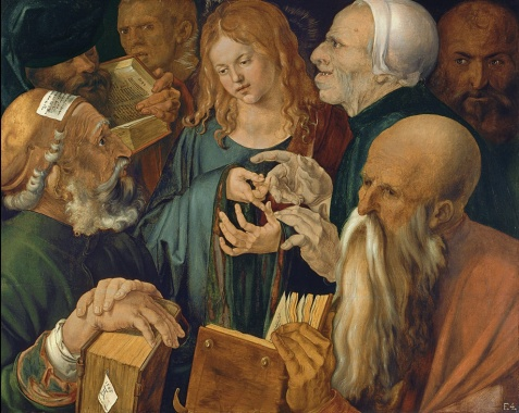 Albrecht Durer Christ Among the Doctors 1506