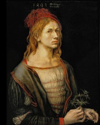 Albrecht Durer Self-Portrait 1493
