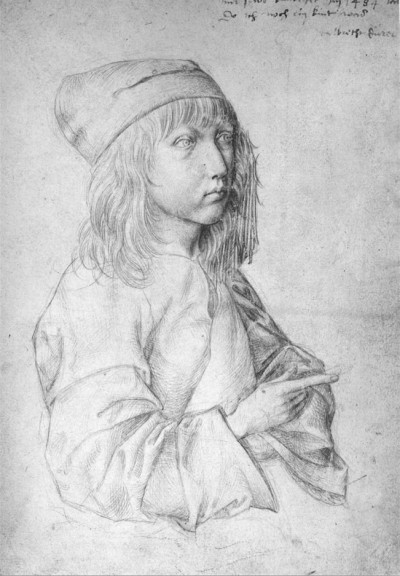 Albrecht Durer - Self Portrait at 13 (1484)