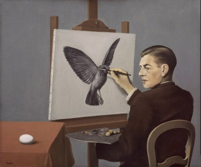 Magritte Clairvoyance 400