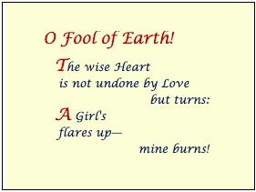 O Fool of Earth - Relic
