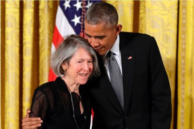 Louise Gluck & Barrack Obama